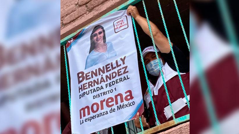 Bennelly Hernández gestora por el rescate de la Juventud