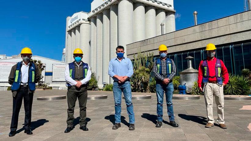 Busca gobierno estatal colaboración con Grupo Modelo, en materia de protección civil