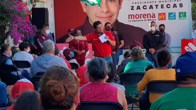 Es una vergüenza la corrupción de los últimos 11 años, pero vamos a rescatar y reordenar Zacatecas: David Monreal Ávila