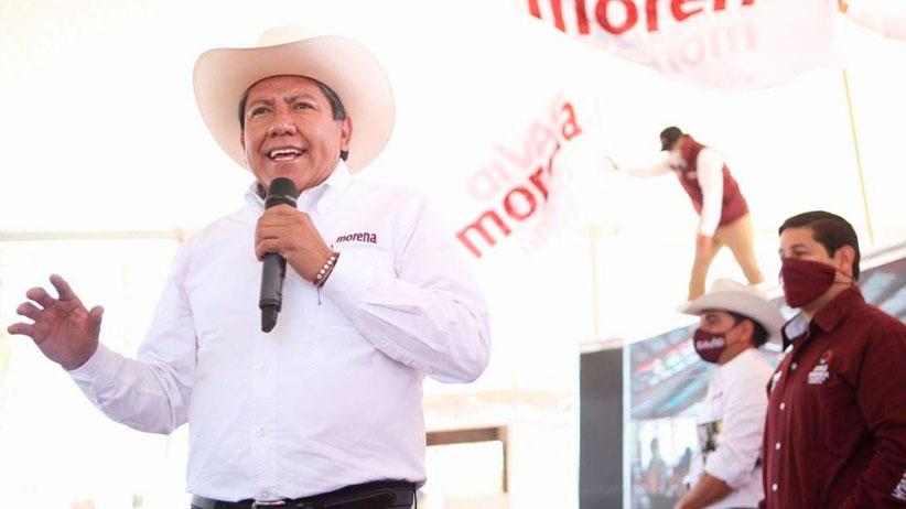 Votar por MORENA, es votar por David Monreal, quien va a hacer equipo con el presidente Andrés Manuel López Obrador.