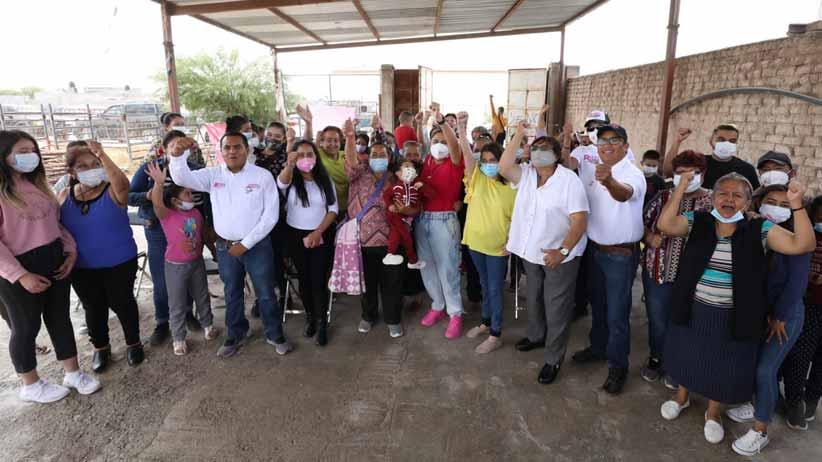 Impulsa el partido Fuerza Por México sus propuestas en el centro oriente del estado de Zacatecas