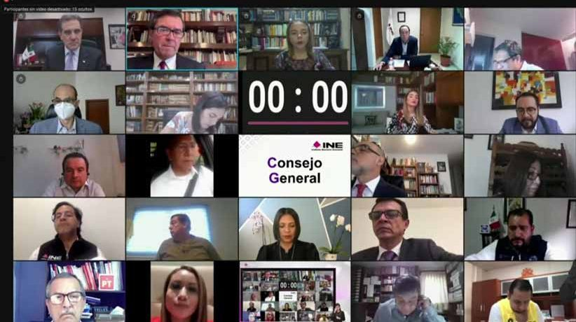 Confirma INE cancelación de registro de candidaturas por omisiones en materia de fiscalización