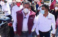 """""""Todo el respaldo para Noe Esparza en Jalpa"""": David Monreal"""