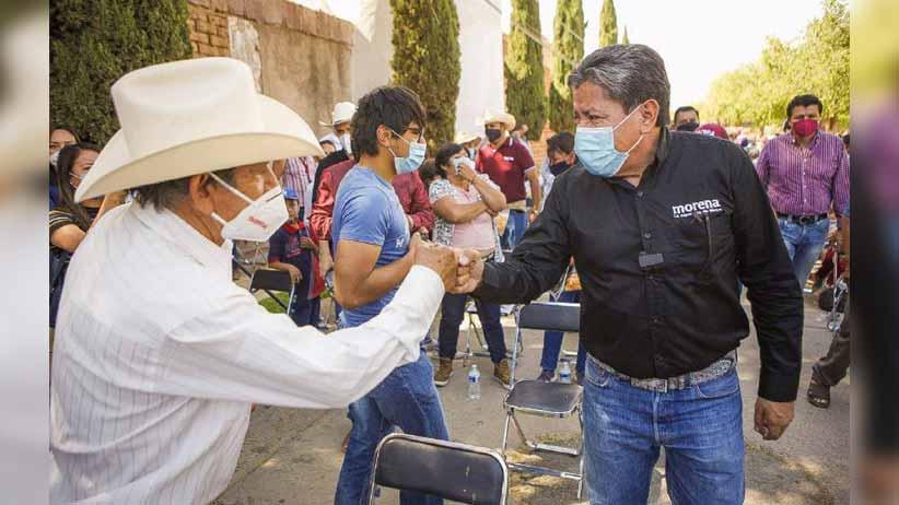Los zacatecanos dicen que vamos a ganar y yo les creo, será un triunfo contundente: David Monreal Ávila