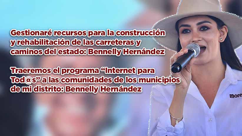 """Traeremos el programa """"Internet para Tod@s"""" a las comunidades de los municipios de mi distrito: Bennelly Hernández"""
