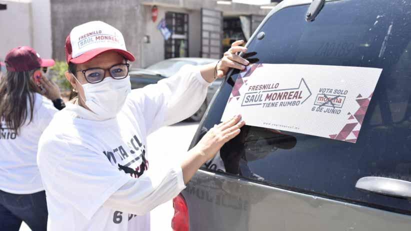 Legislaré para hacer realidad la Cuarta Transformación en Zacatecas: Maribel Galván