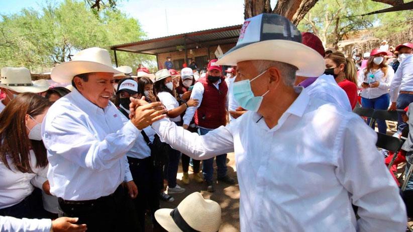 Gracias al apoyo de todos los municipios tendremos un triunfo contundente: David Monreal Ávila