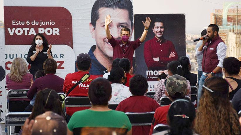 Dan cálido recibimiento a Julio César Chávez