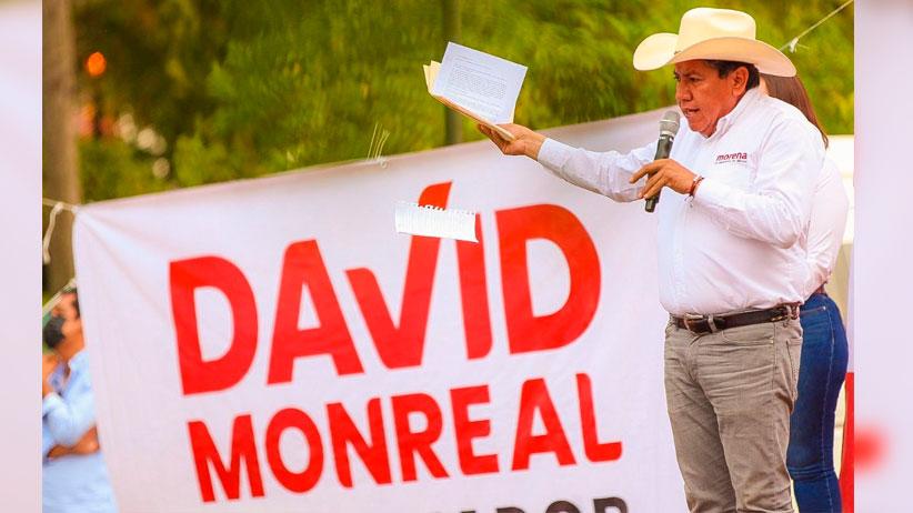 El sur ya decidió y va con David Monreal por la transformación de Zacatecas