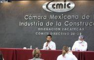 Trabajará de la mano CMIC con candidatos de Fuerza Por México en Zacatecas