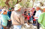 Vamos a Regionalizar Proyectos para el sector agrícola y ganadero de Villa García: Bárbaro Flores