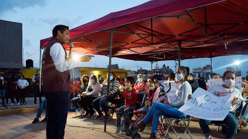 Tenemos la oportunidad histórica de consolidar la transformación en el municipio de Guadalupe: Julio César Chávez