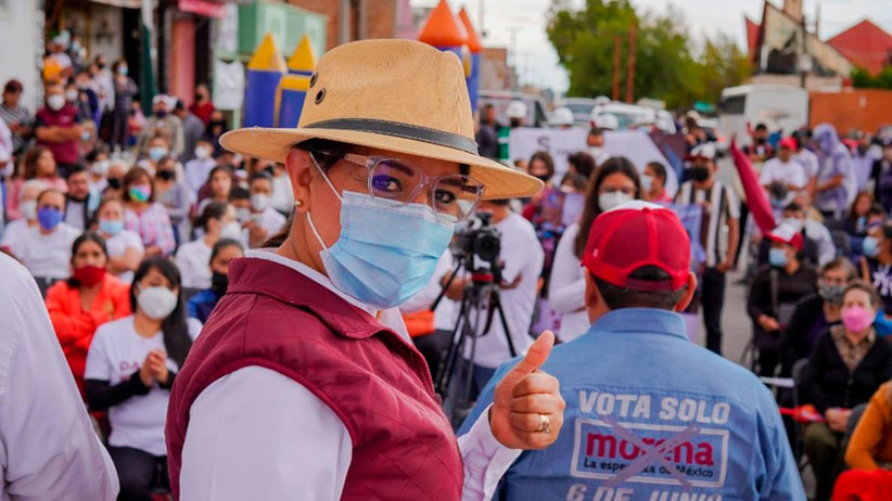 La participación ciudadana será determinante para instaurar la 4T en Zacatecas: Maribel Galván