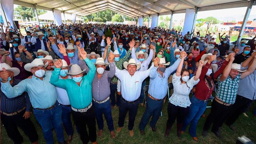 Brindan ganaderos respaldo unánime a David Monreal rumbo a la gubernatura de Zacatecas