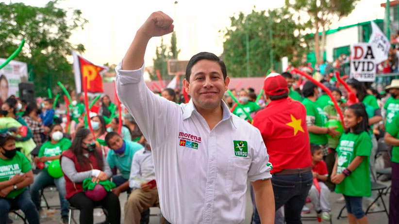 A dos semanas de la elección, Jorge Miranda es respaldado por los capitalinos.
