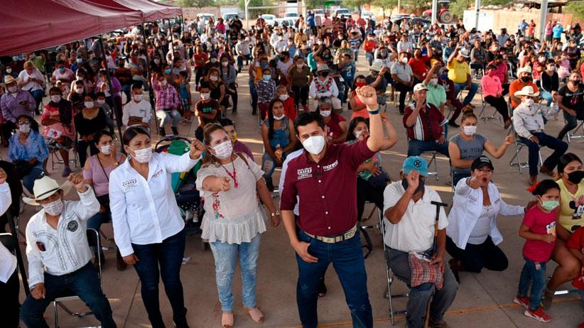 El pueblo de Guadalupe decide bien y ya decidió por Morena: Julio César Chávez