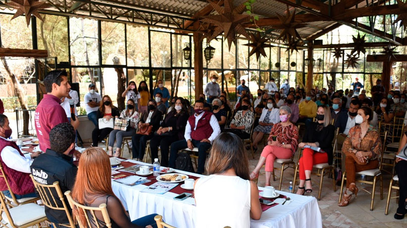 Convertiremos al municipio de Guadalupe en el motor económico del estado: Julio César Chávez