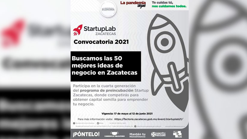 Convocan a las 50 mejores ideas de negocio para apoyarlos con capital semilla