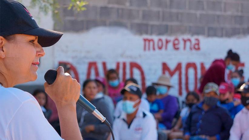 No podrán comprar la conciencia de los ciudadanos: Julia Olguín