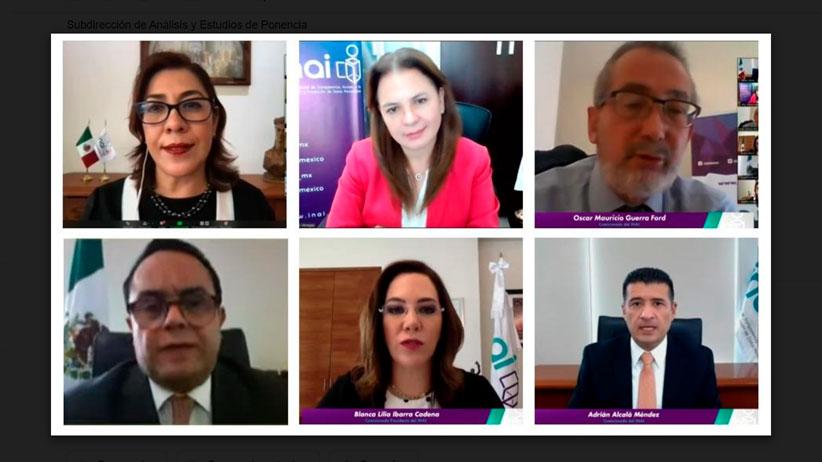 INAI invita al INE a informar sobre estadísticas de lista nominal de electores en el extranjero