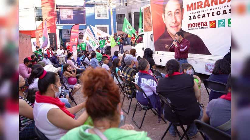 La seguridad regresará a Zacatecas: Jorge Miranda