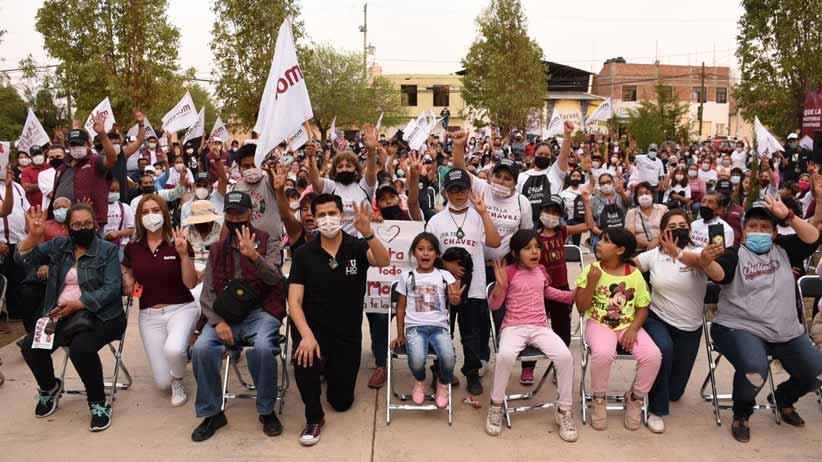 Vamos a consolidar la transformación del municipio de Guadalupe: Julio César Chávez