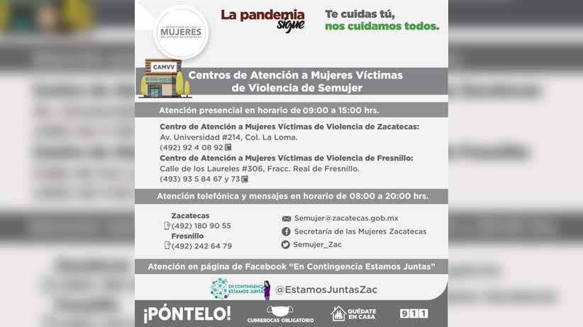 Exhortan a víctimas de violencia a acercarse a la Semujer para darles acompañamiento