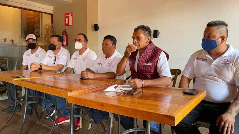 Perredistas de Guadalupe se suman a David Monreal, a Julio César Chávez y a MORENA