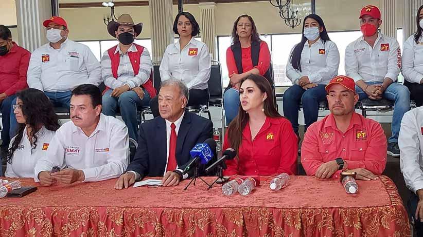 Respalda dirigencia nacional del PT a candidatos en Zacatecas