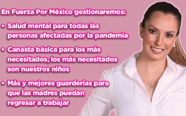 Más y mejores guarderías para que las madres puedan regresar a trabajar: Lupita Flores (video)