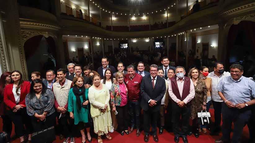 Respaldan 21 senadores a David Monreal en su esfuerzo por la transformación de Zacatecas
