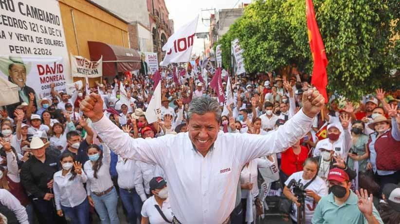 Los Monreal somos garantía y vamos a demostrar que, ante la adversidad, Zacatecas tiene solución: David Monreal