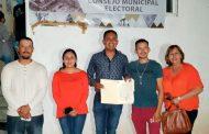 Otorgan a Mario Reyes Santana constancia de mayoría para la presidencia municipal de Genaro Codina