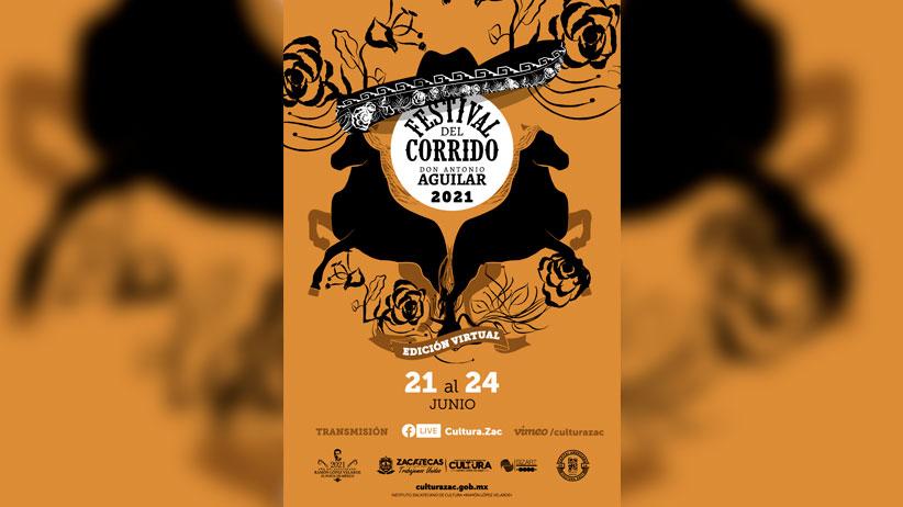 Del 21 al 24 de junio, Zacatecas llevará a cabo el Festival del Corrido a Don Antonio Aguilar 2021