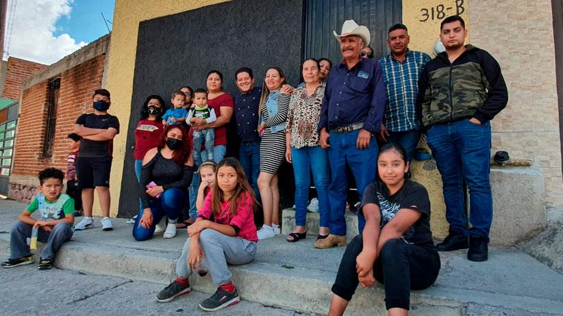 Xerardo Ramírez regresa a las colonias a agradecer a los Zacatecanos la confianza