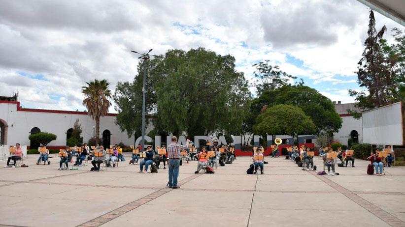 Reanuda Banda Sinfónica de Guadalupe, clases presenciales