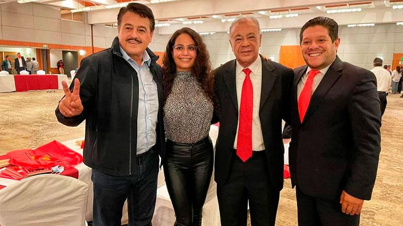 Xerardo Ramírez agradeció el respaldo del Partido del Trabajo para lograr la victoria el pasado 6 de junio.