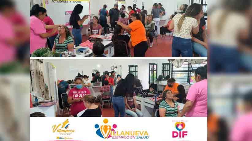 SMDIF Villanueva imparte talles para los villanovenses
