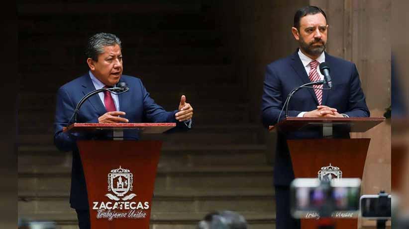 Ofrece David Monreal lealtad al pueblo de Zacatecas; Inicia la transformación
