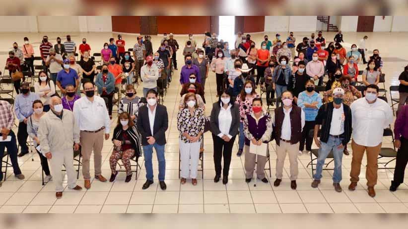Gobierno de Tello da certeza jurídica a predios de 141 familias de Fresnillo