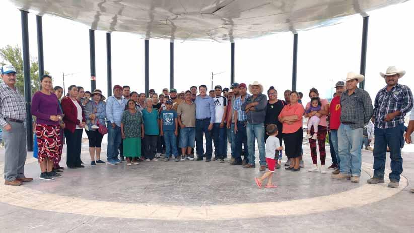 En Mazapil, arranca Femat gira de agradecimiento