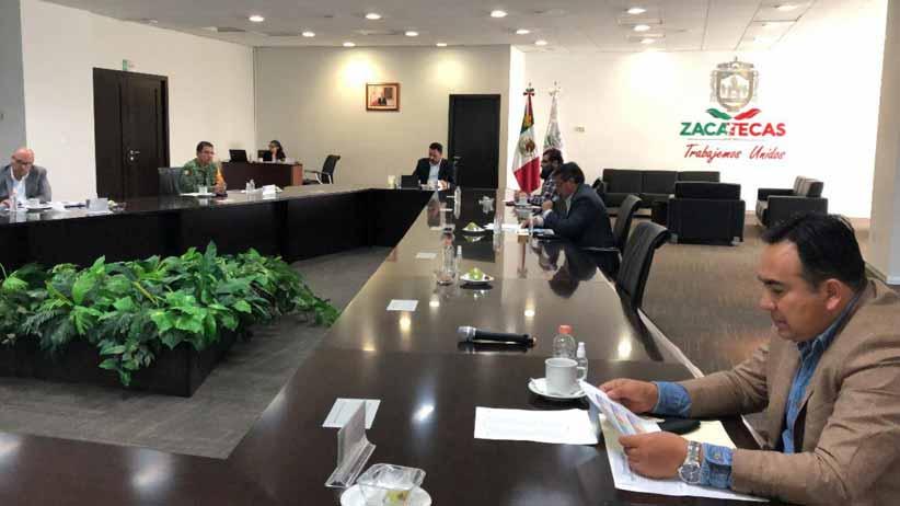 Autoridades delinean acciones operativas para fortalecer la seguridad en municipios