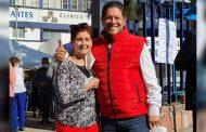 Xerardo Ramírez emite su voto
