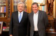 Estamos convencidos de apoyar los esfuerzos del presidente López Obrador por el bien de Zacatecas y el país: David Monreal Ávila
