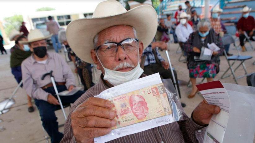 Continúa la entrega de la Pensión para el Bienestar en municipios de Zacatecas