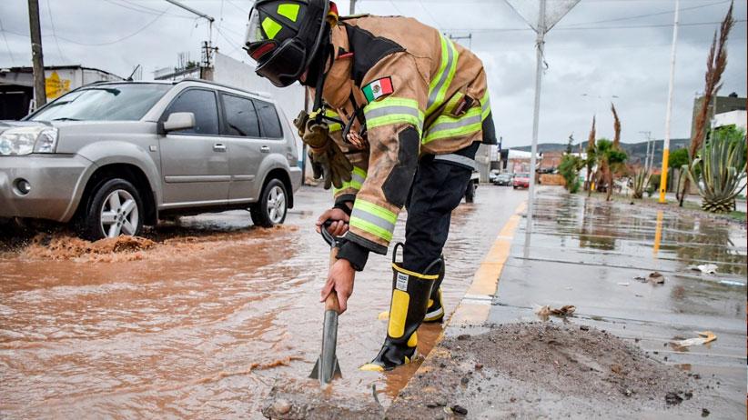 Previene Protección Civil de Guadalupe encharcamientos e inundaciones
