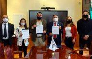 Firman SAMA y Unidad Académica de Historia convenio a favor del medio ambiente