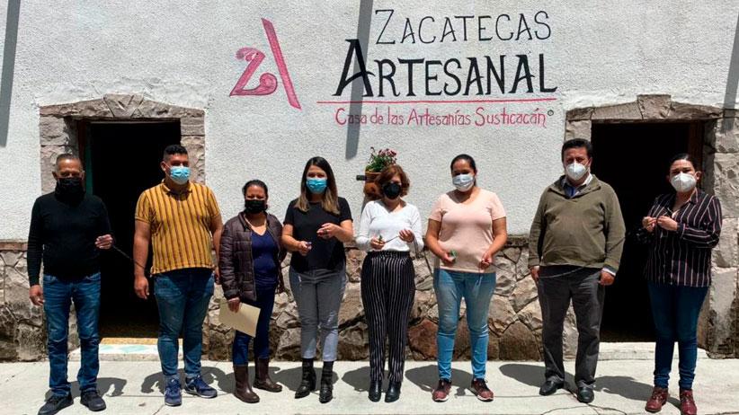 Inauguran tienda artesanal en Susticacán
