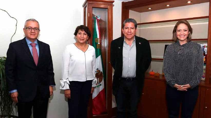 Se reúne David Monreal con Delfina Gómez, secretaria de Educación