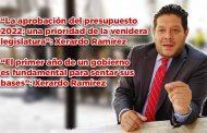 """""""El primer año de un gobierno es fundamental para sentar sus bases"""": Xerardo Ramírez (video)"""